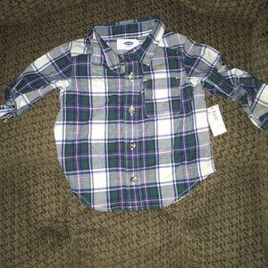 Baby boy down shirt